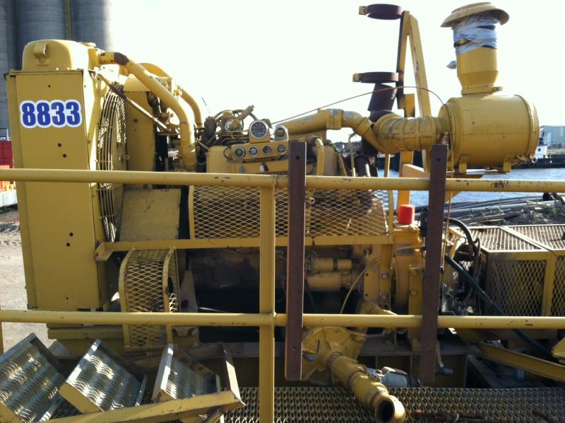 Pekor Dredge Booster Pump Caterpillar 3408 Powered For Sale