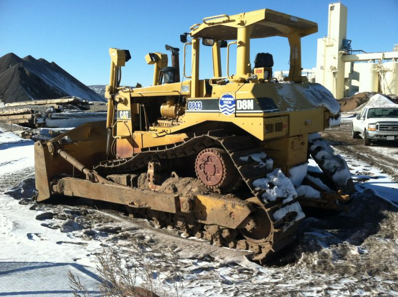 Bull Dozer Caterpiller D8N -  8404 hrs For Sale