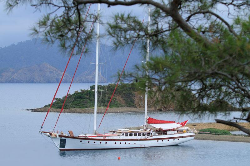 37m Robert Delus Mahogany Schooner Luxury Sailing Yacht For Sale