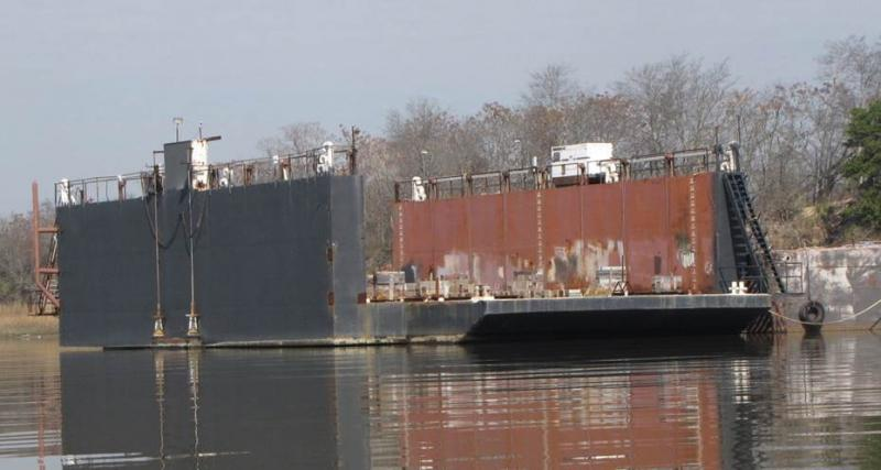 140' Dry Dock 1200 Ton For Sale