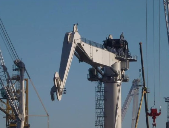 260 Ton Knuckleboom Crane with AHC For Sale