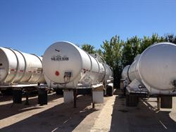 (16) Tank Trailers - MC 307 200 BBL 8400 Gal Used Tankers For Sale