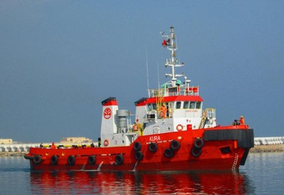 32m Tug Boat 3000 HP 40t BP For Sale