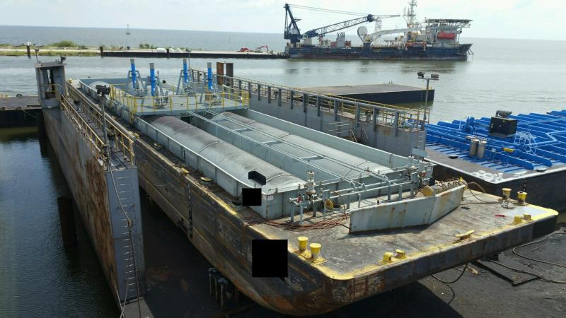 1600 Ton Dry Dock For Sale