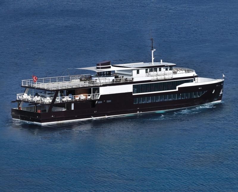 45m Passenger Day Cruise Vessel 350 Passengers For Sale