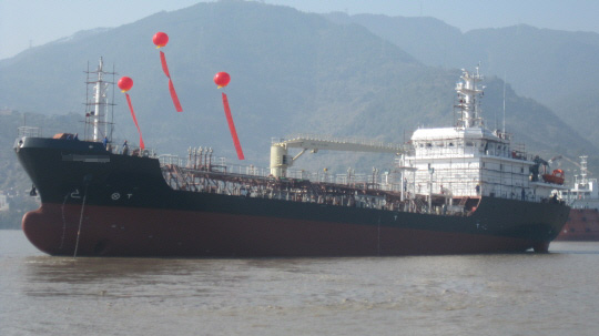 91m Bunkering Product Oil Tanker Resale 3500 DWT 1912 KW For Sale