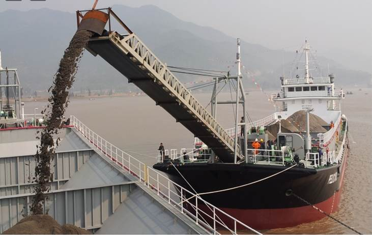 78m Self Unloading Harbour Sand Carrier - For Sale