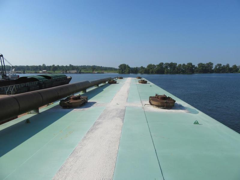 200' Double Hull Tank Barge 270,000 Gals in 6 Stainless Steel Tanks For Sale