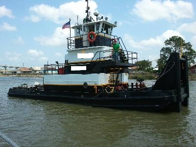 600 Hp Push boat for sale $50,000