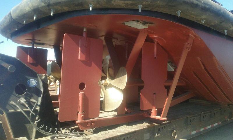 25' Truckable Tug Twin Cummins 600 HP for sale