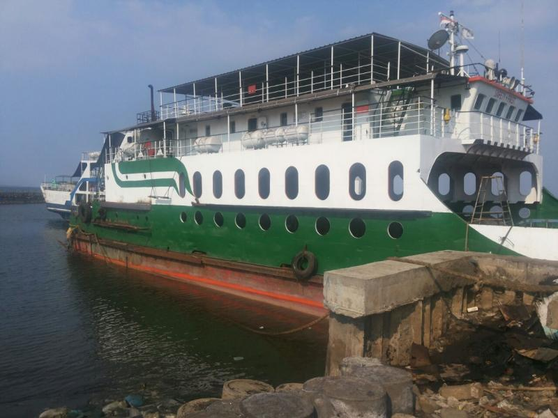 61m Double Ended LCT Ferry 2008 - 157 PAX 47 Car - DWT 1000 For Sale