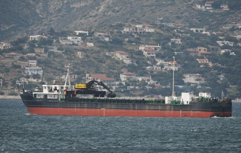 89m Sea River Cargo Ship 1988 - Self Discharging - DWT 2821 For Sale