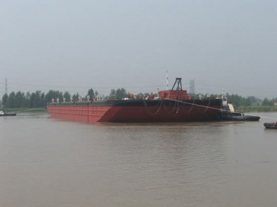 122m Deck Barge 2016 - Ballastable Barge - DWT 18000 For Sale