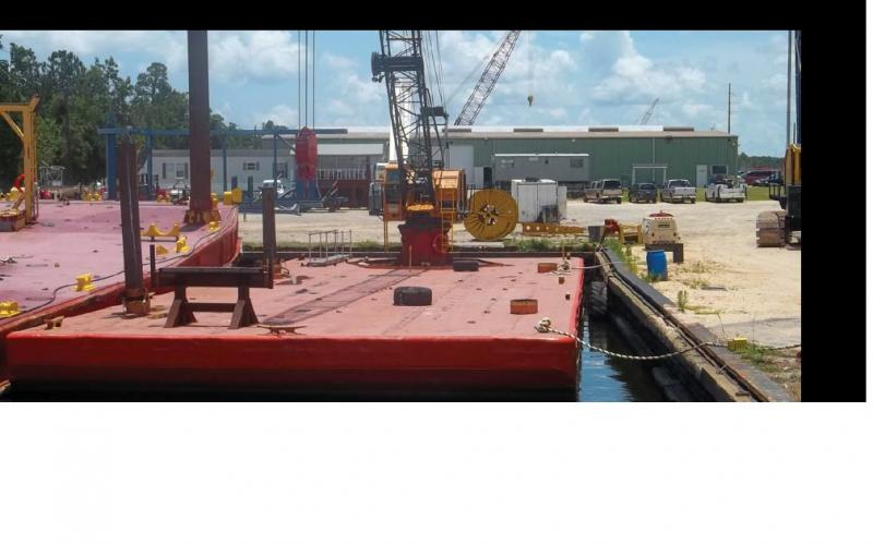 75 ton Crane Barge for sale or lease