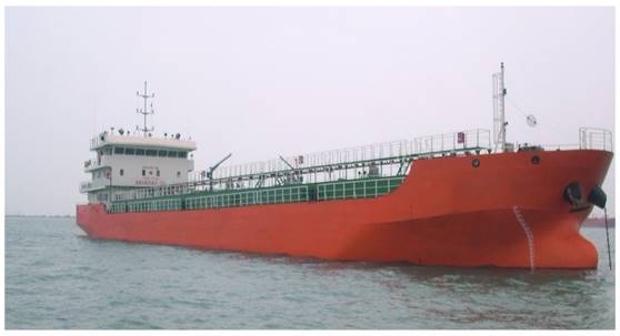 88m Self Propelled Tank Barge 2013 - Twin Screw - DWT 3200 For Sale