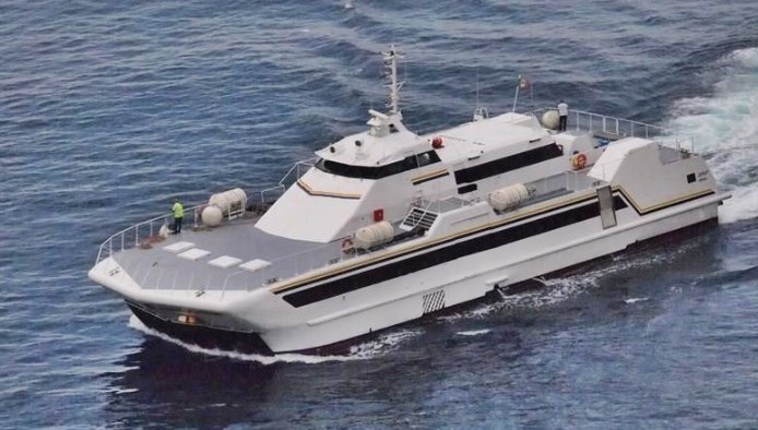 36m Catamaran HIgh Speed Ferry 1990 - Air Cushion For Sale