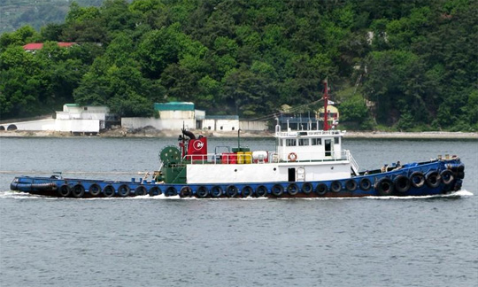 30m Towing Tug Boat 1988 - 25 BP - DWT 373 For Sale