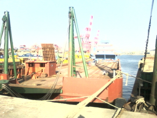 98m Self Propelled Deck Barge 2003 - DWT 3016 For Sale
