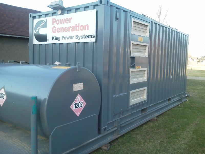 Cummins  Self Contained GenSet 2008 - 380KW/475 KVA For Sale