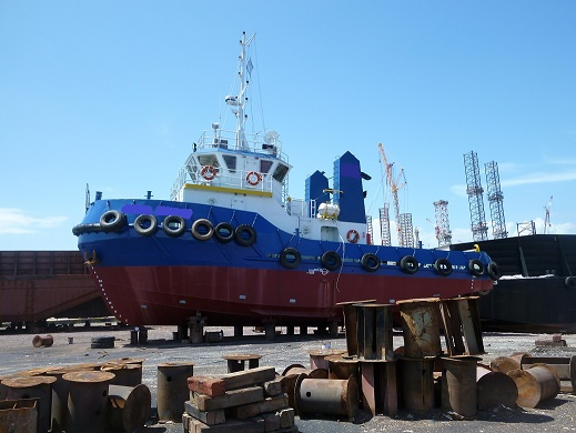 24m Towing Tug Boat 2004 For Sale