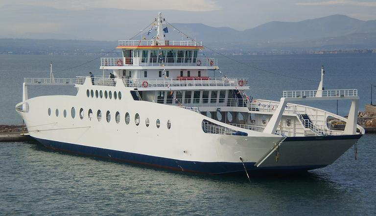 61m Double Ended ROPAX Ferry 2009 - Open Type - DWT 380 For Sale