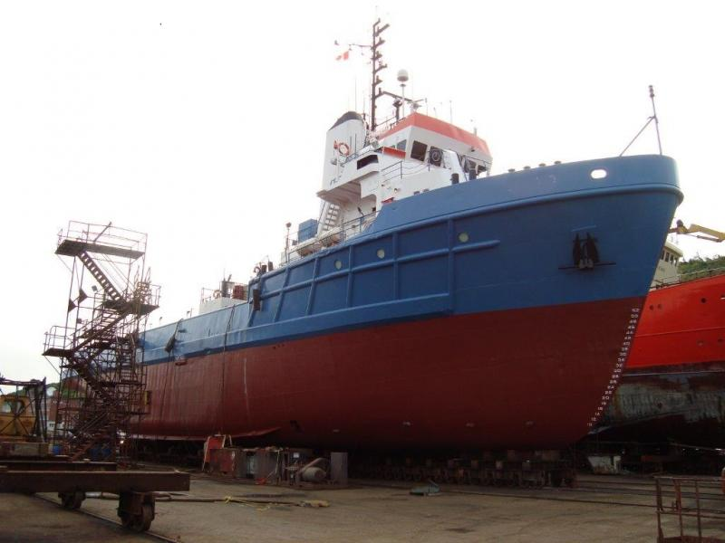 191' Steel Supply Cargo Standby Vessel For Sale