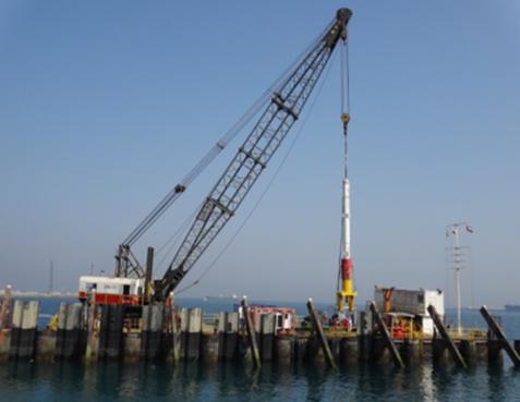 30m Floating Crane 1997 - Rebuilt 2001 For Sale