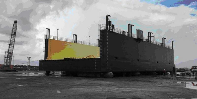 160' x 70' Dry Dock For Sale