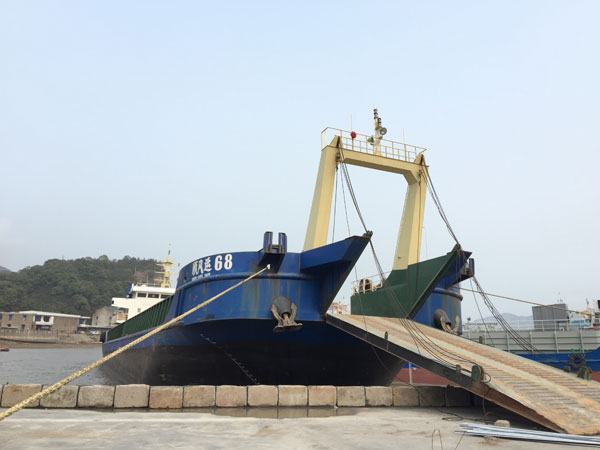 78m LCT Self Propelled Barge 2015 - DWT 2833 For Sale