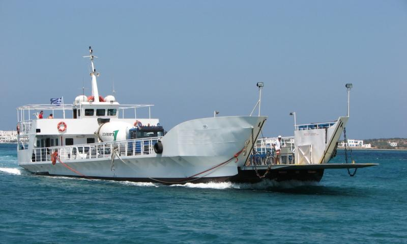 36m LCT Car Passenger Ferry 1994 - Open Type - 100 Pax 22 Car For Sale