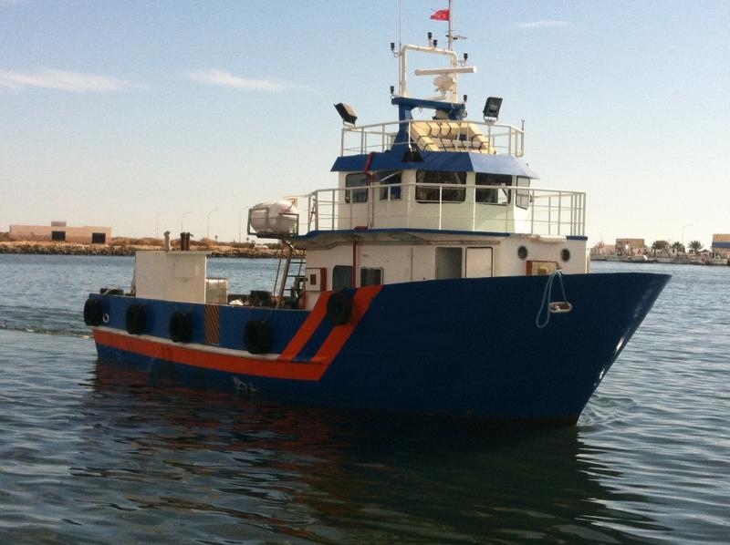 17m Tug Work Crew Boat 720 HP - 20 Passengers For Sale