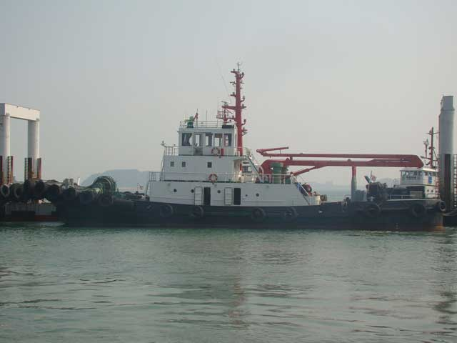 34m Harbor Tug Boat 1987 - Japan Built For Sale