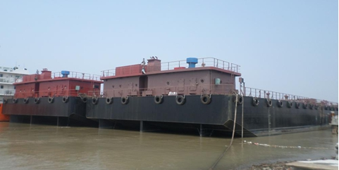 76m Non Propelled Oil Barge 2013 - 5600 CBM - DWT 5000 For Sale