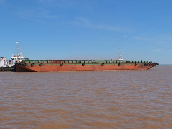 70m Deck Barge 2011 - DWT 4000 For Sale