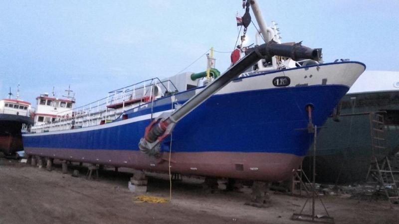 46m Self Propelled Self Unloading 300 ton Suction Hopper Dredger For Sale