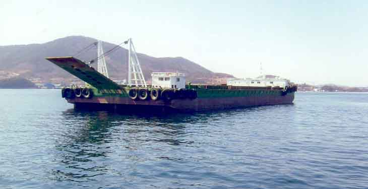 75m Ballast Deck Barge For Sale