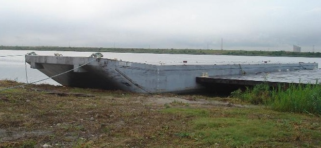 200' Deck Barge Deck 1400psf For Sale