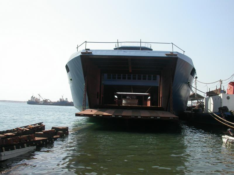 98m RORO Passenger Vessel - 800 Passengers - 140 Cars For Sale