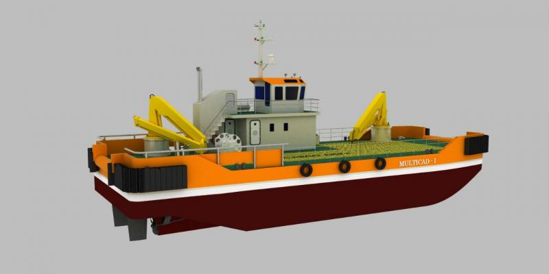 29m Multipurpose Multicat Workboat New Build for SALE