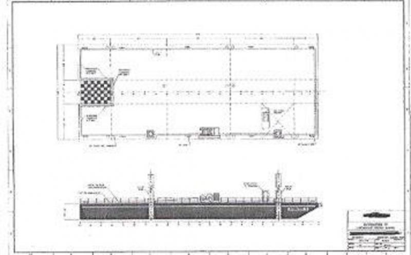 150' ABS Spud Barge for sale