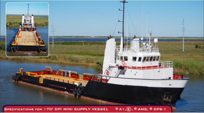 170' DP1 Offshore Supply Vessel