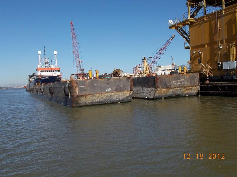 190'x54'x14' keyway barge for sale