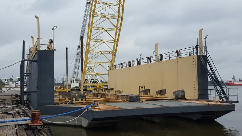 140' Dry Dock 1200 ton Lift Capacity For Sale