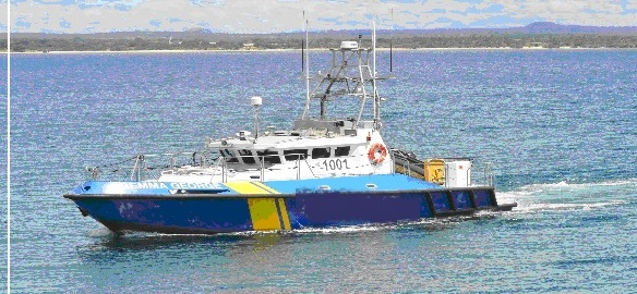 16m Fast Response Patrol Supply Boat 2012 - 40 knots For Sale