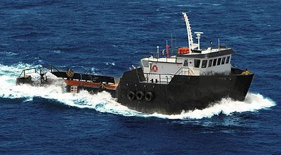 120' Offshore Supply Vessel OSV Built 1979 - 1200 HP For Sale