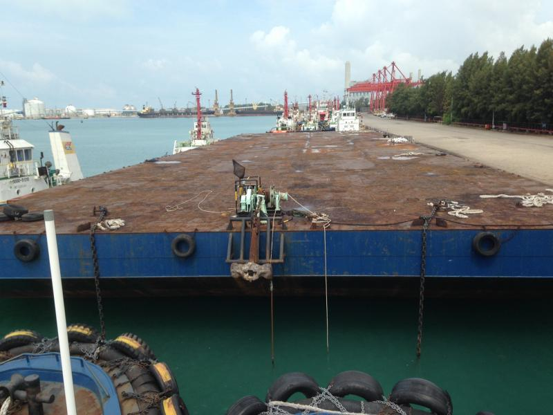 100m Deck Cargo Barge 2006 - Ballastable - DWT 11400 For Sale