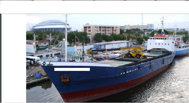 70m General Cargo Vessel - DWT 1208 - For Sale