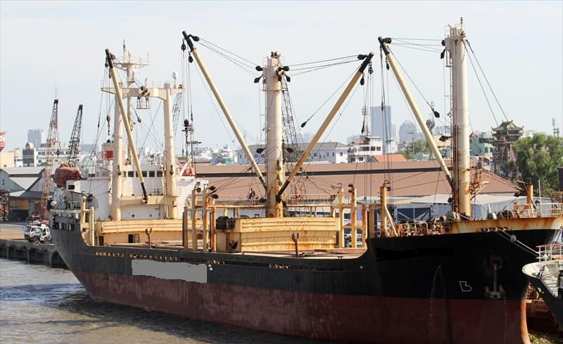 107m General Cargo -  DWT 7200 - For Sale