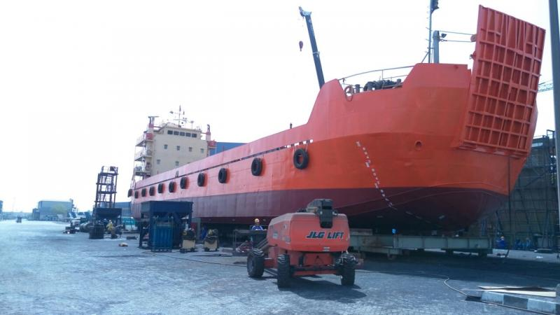 65m Landing Craft 2008 - DWT 1615 tons For Sale