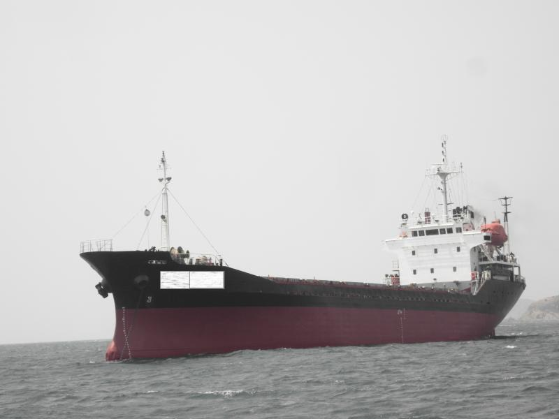 95m General Cargo Vessel -  DWT 3640 - Gearless - For Sale